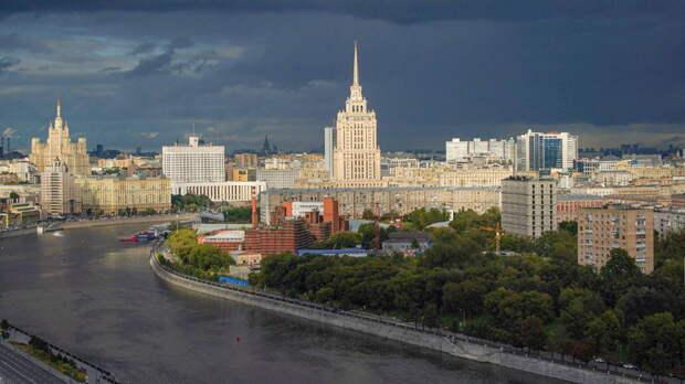 Москве угрожают град, ливень и шквалистый ветер
