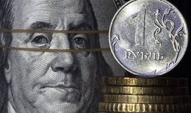 Рубль слегка укрепляется, отыгрывая дорогую нефть и налоговый период