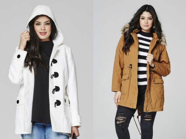 Верхняя одежда для полных осень-зима 2016-2017 Simply Be
