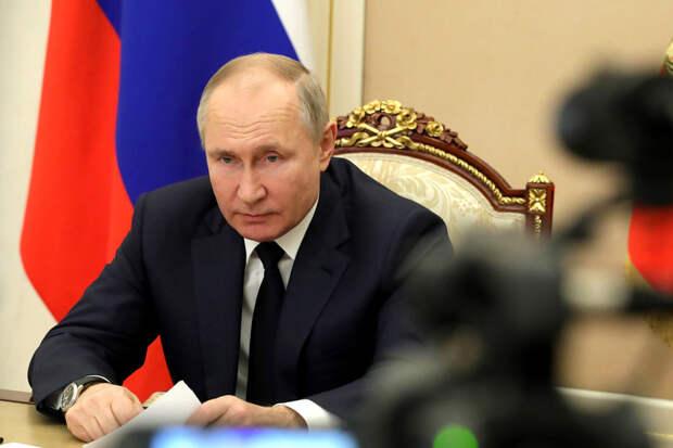 О резко погрустневшем Путине