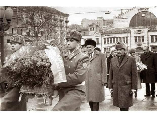 Десятилетия созидания: Украина при Щербицком