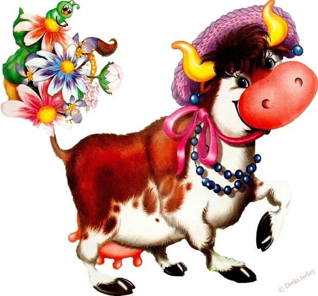 СТИХОТВОРНАЯ СМЕХОТЕРАПИЯ. Жила-была корова