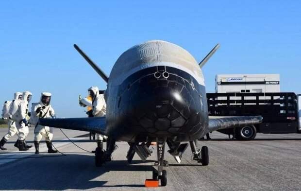 Россия заполучила секретные данные об американском космическом беспилотнике