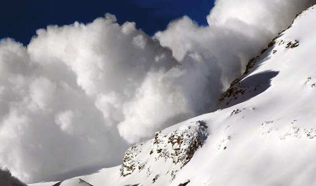 Объявлено экстренное предупреждение по лавиноопасности в горах Кубани