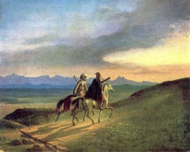 Воспоминания о Кавказе, 1838 год (М. Ю. Лермонтов)