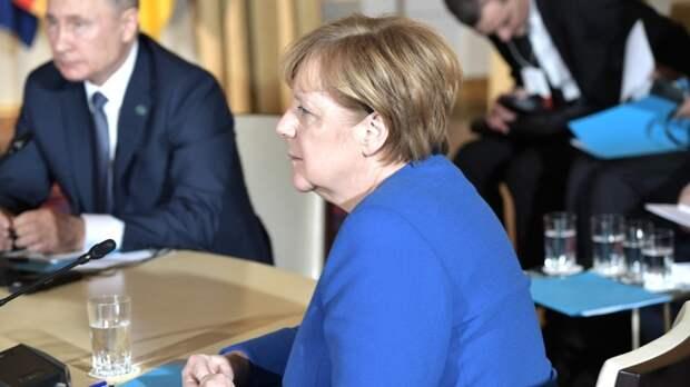 Меркель: главы стран ЕС не смогли согласовать саммит с участием президента России
