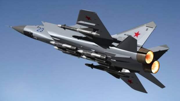 Российский истребитель МиГ-31 перехватил норвежский самолёт в небе над Баренцевым морем