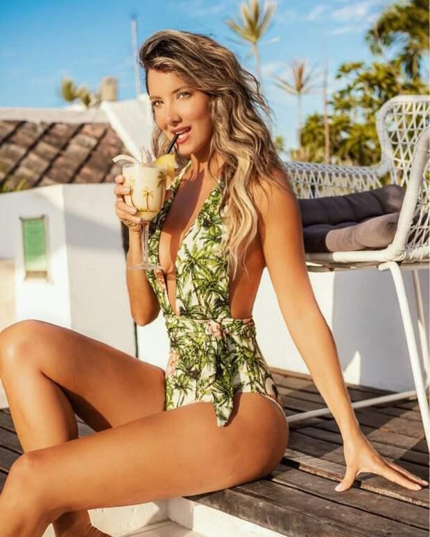 Бывшая «Мисс Колумбия» Даниэлла Альварес потеряла ногу, нонеотчаивается