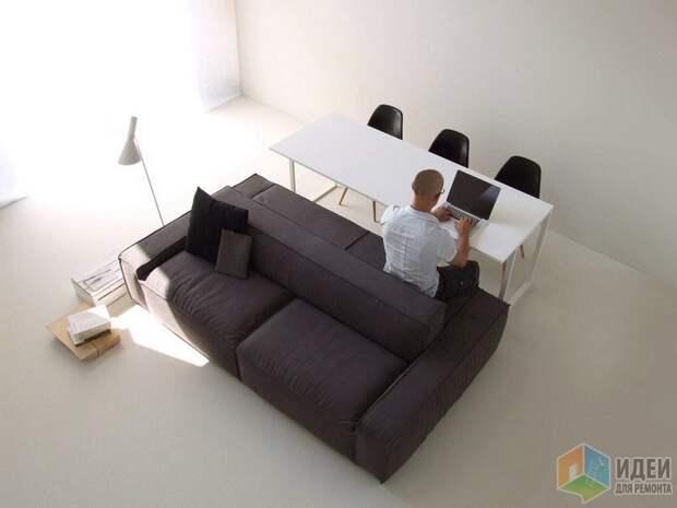 Конфигурация стола и дивана «Isolagiorno», Farm