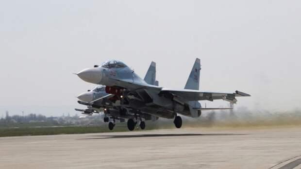 Итальянский пилот оказался на грани нервного срыва после встречи с СУ-30СМ