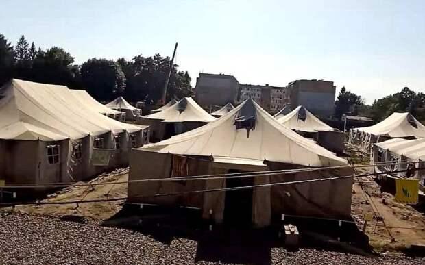 Прибалты готовят палаточный лагерь для «белорусских беженцев»