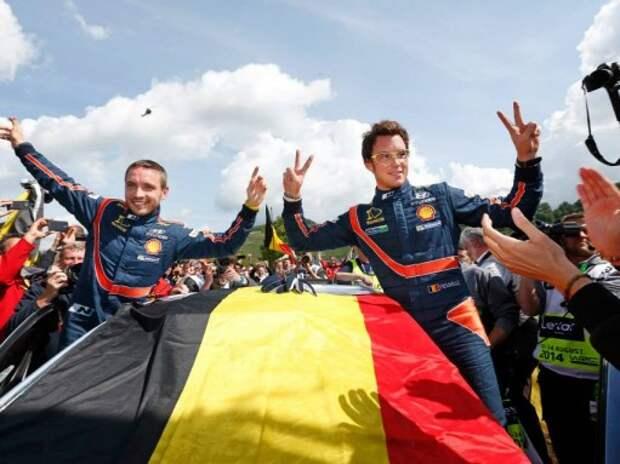 WRC: первая победа Hyundai