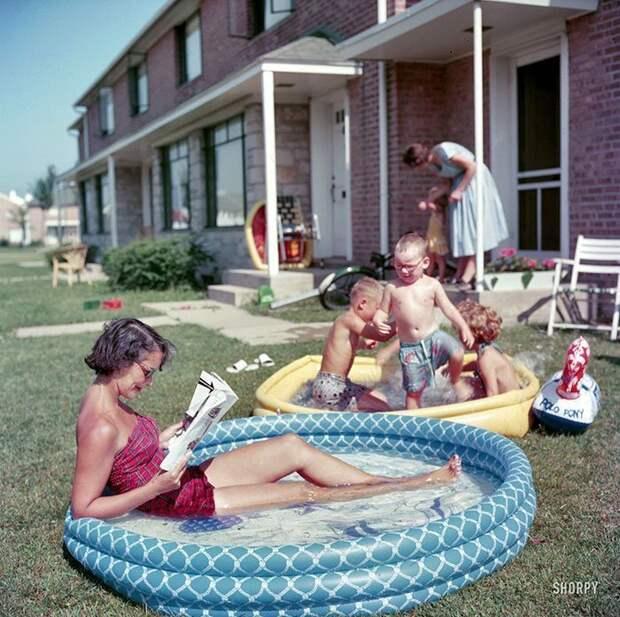 Жизнь вСША в50-е: редкие фотографии