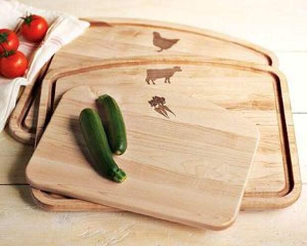 Разделочная доска влияет на качество пищи. Чистота и еще раз чистота!