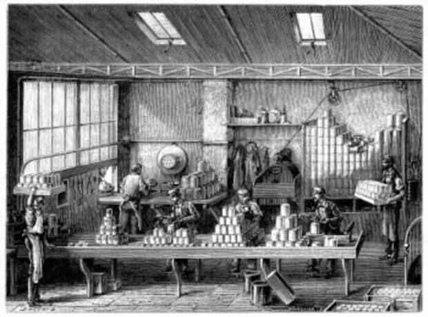 Консервный завод XIX века