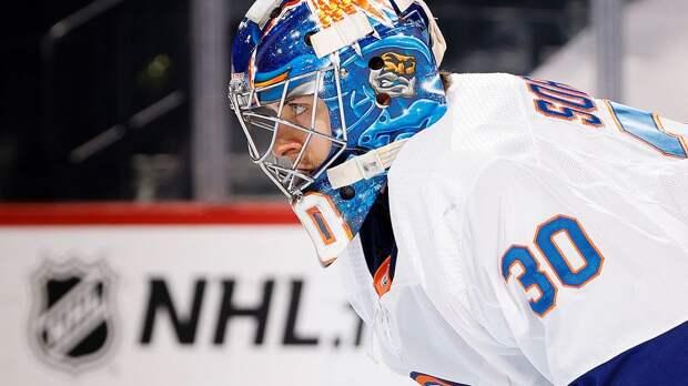 В русского вратаря не верили, когда он подписывал контракт с ЦСКА. Сорокин дорос до НХЛ и уже оформил «сухарь»