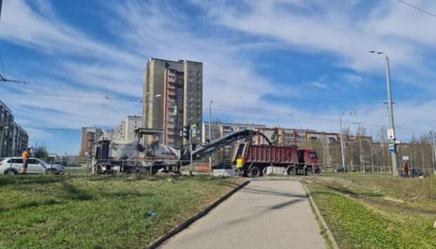 В Петрозаводске приступают к ремонту Октябрьского проспекта