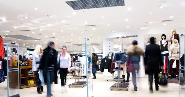 Покупки в ТЦ с начала недели выросли на 82%