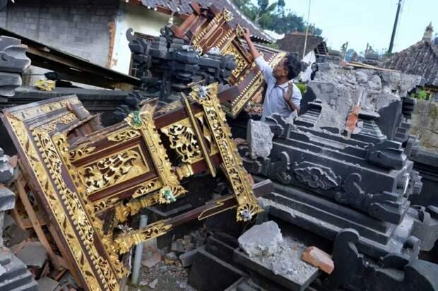 На Бали произошло землетрясение, есть пострадавшие