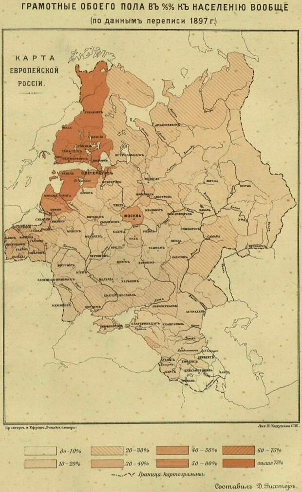 Смог бы русский народ научиться читать без большевиков?