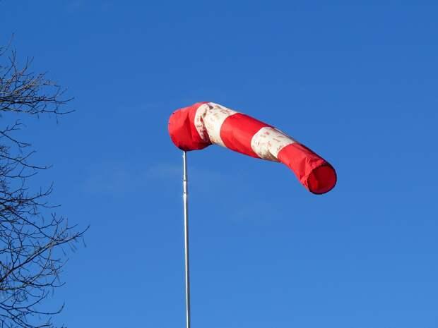В Удмуртии ожидается усиление ветра в ночь с 8 на 9 ноября