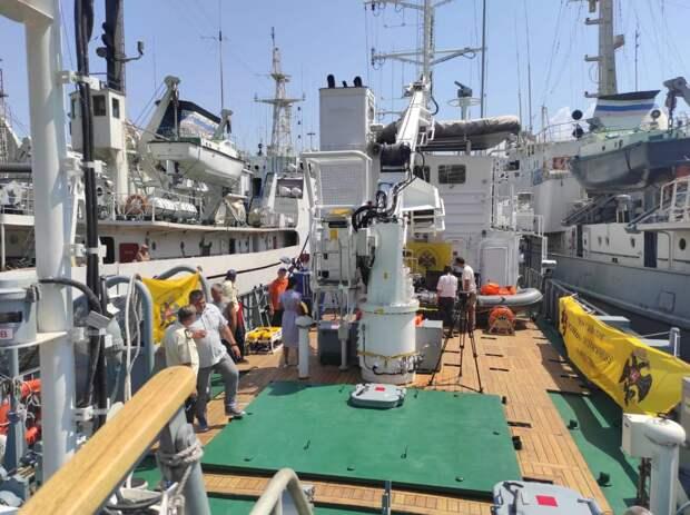 """Черноморский флот предоставит дополнительное оборудование для поиска санитарного транспорта """"Белосток"""""""