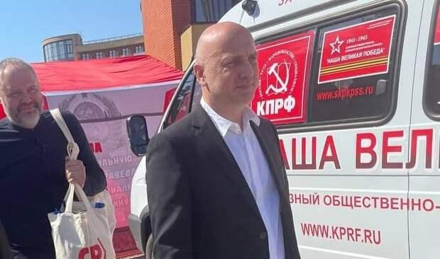 Захара Прилепина не пустили на съезд КПРФ