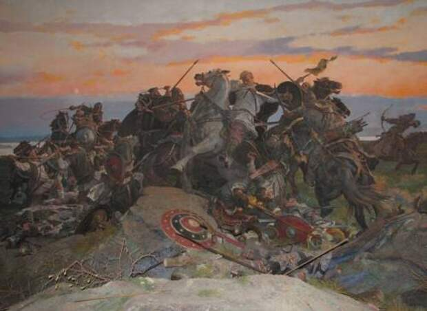 Время Свенельда: противостояние руси и славян?
