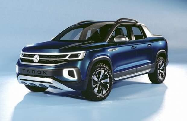 Volkswagen представил пикап нового поколения