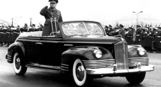 Шесть главных авто страны, участвовавших в парадах Победы