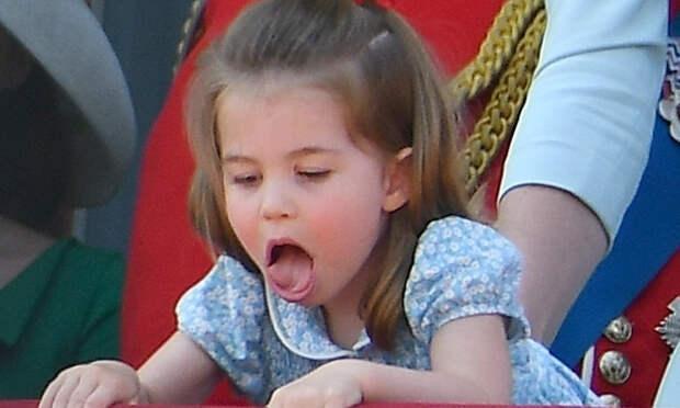 Принцессы так себя не ведут: 25 фото с гримасами наследницы британского трона