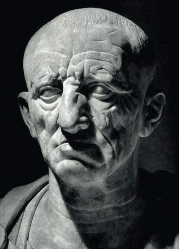 Бюст римлянина из Отриколи, обычно отождествляемый с Марком Порцием Катоном Старшим