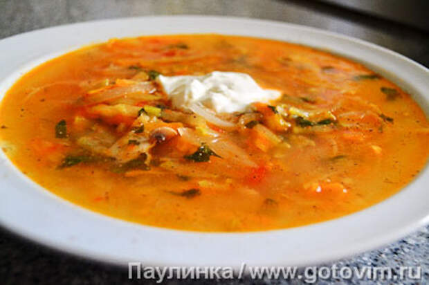 Кабачковый суп. Фотография рецепта