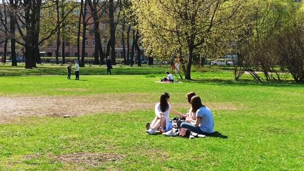 Синоптики пообещали петербуржцам потепление в понедельник