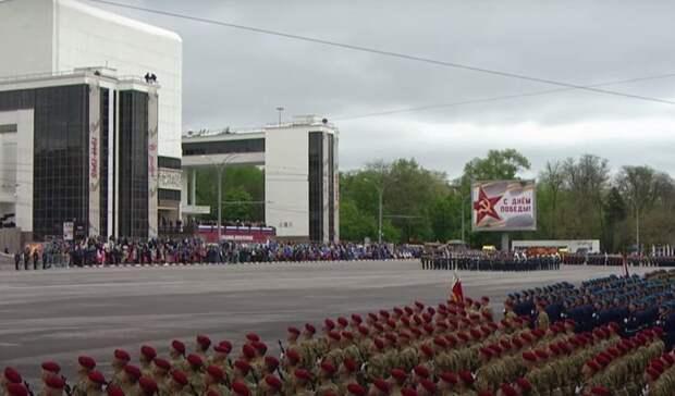Центр Ростова до 15.00 перекрыли из-за военного парада