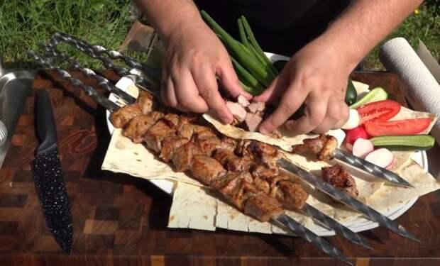 Узбекский рецепт сочного шашлыка