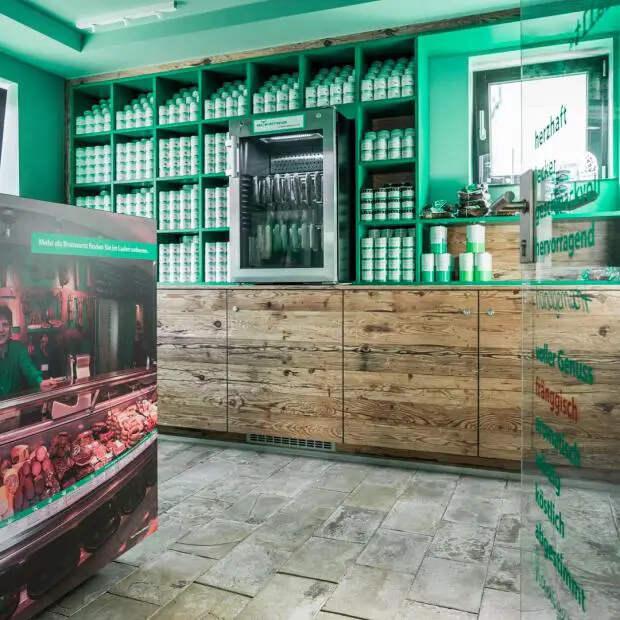 Колбасный отель под Нюрнбергом: эффектный арт-объект истрашный сон вегетарианца