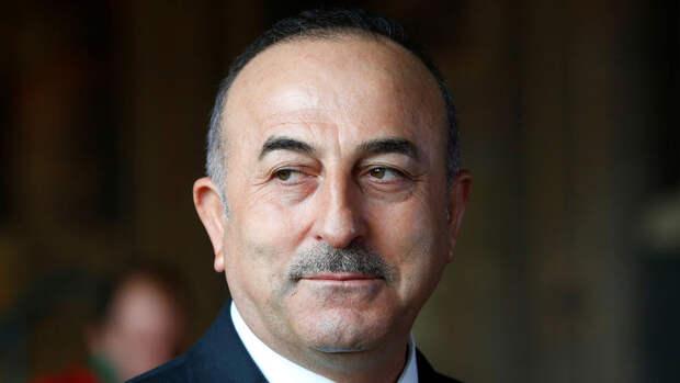 Глава МИД Турции заявил о необходимости отправки международных сил для защиты палестинцев