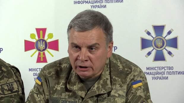 Украинский генерал заявил о наличии плана в случае военного вторжения с территории Белоруссии