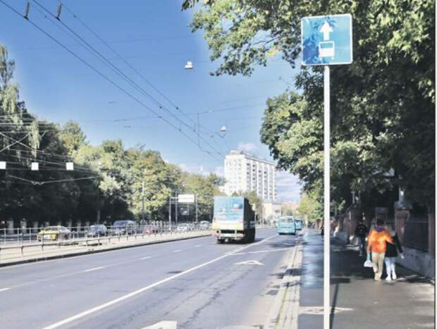 "На Стромынке под знаком уже сняли табличку ""Рабочие дни"". Фото: Ярослав Чингаев"