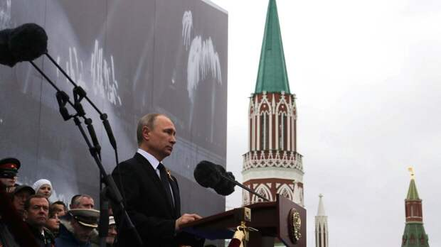 Путин отступил от традиционного выступления по случаю Дня Победы