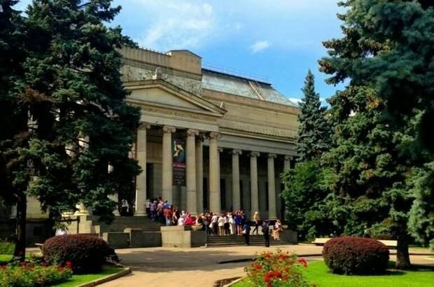 Как создавался музей имени Пушкина