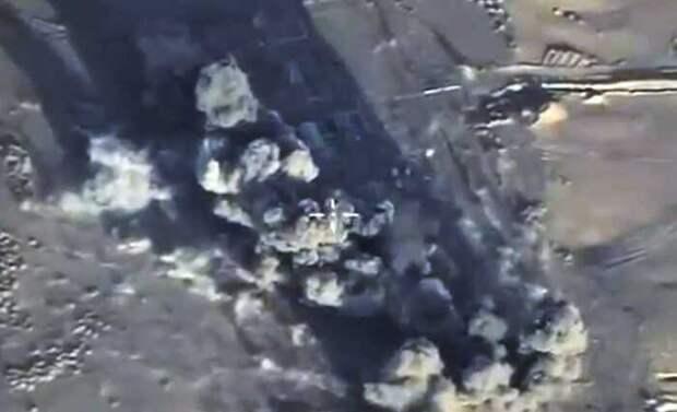 Авиация ВКС за 10 минут разбомбила в Сирии четыре лагеря джихадистов