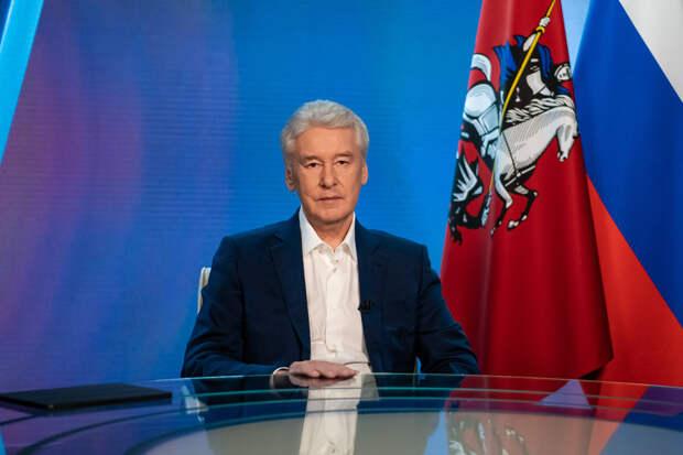 Собянин объявил выходные до 20 июня и ограничил ночную жизнь в Москве