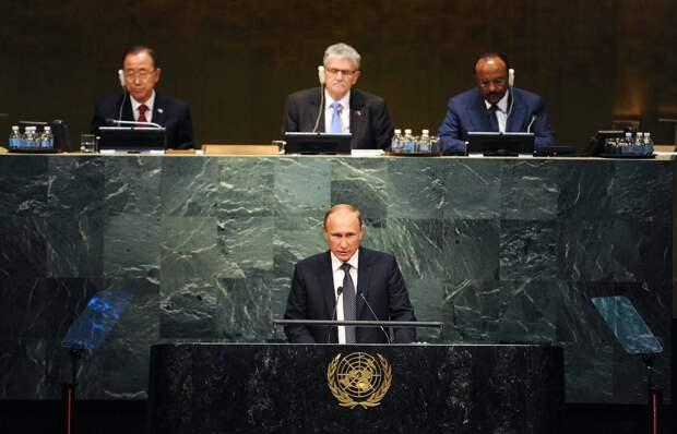 Вассерман поделился ожиданиями от грядущего выступления Путина на ГА ООН