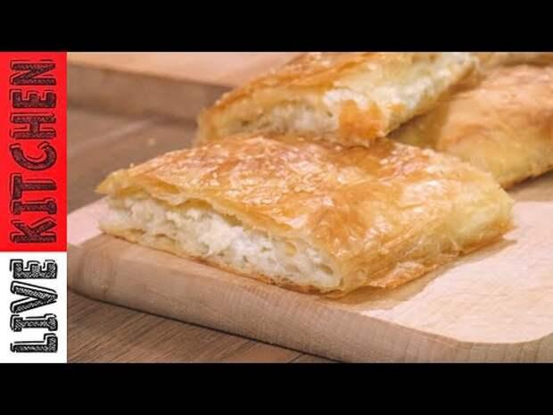 Легкий рецепт греческого пирога с сыром фета