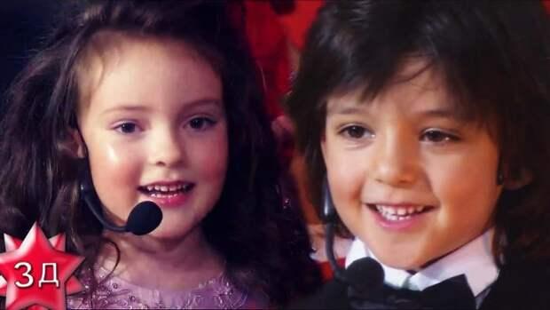 (Видео) Дети Филиппа Киркорова: Алла-Виктория и Мартин, песенка для детей