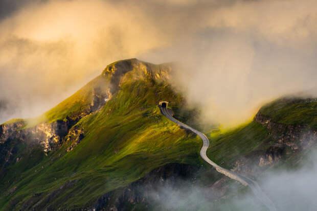 7 фото самой красивой высокогорной дороги Гроссглокнер, по которой надо проехать хотя бы раз в жизни
