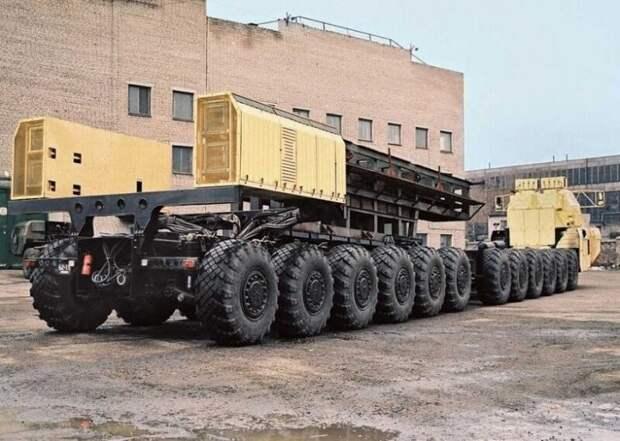 5 секретных грузовиков Советского Союза