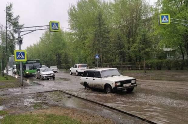 В Красноярске начался капитальный ремонт ул. Павлова